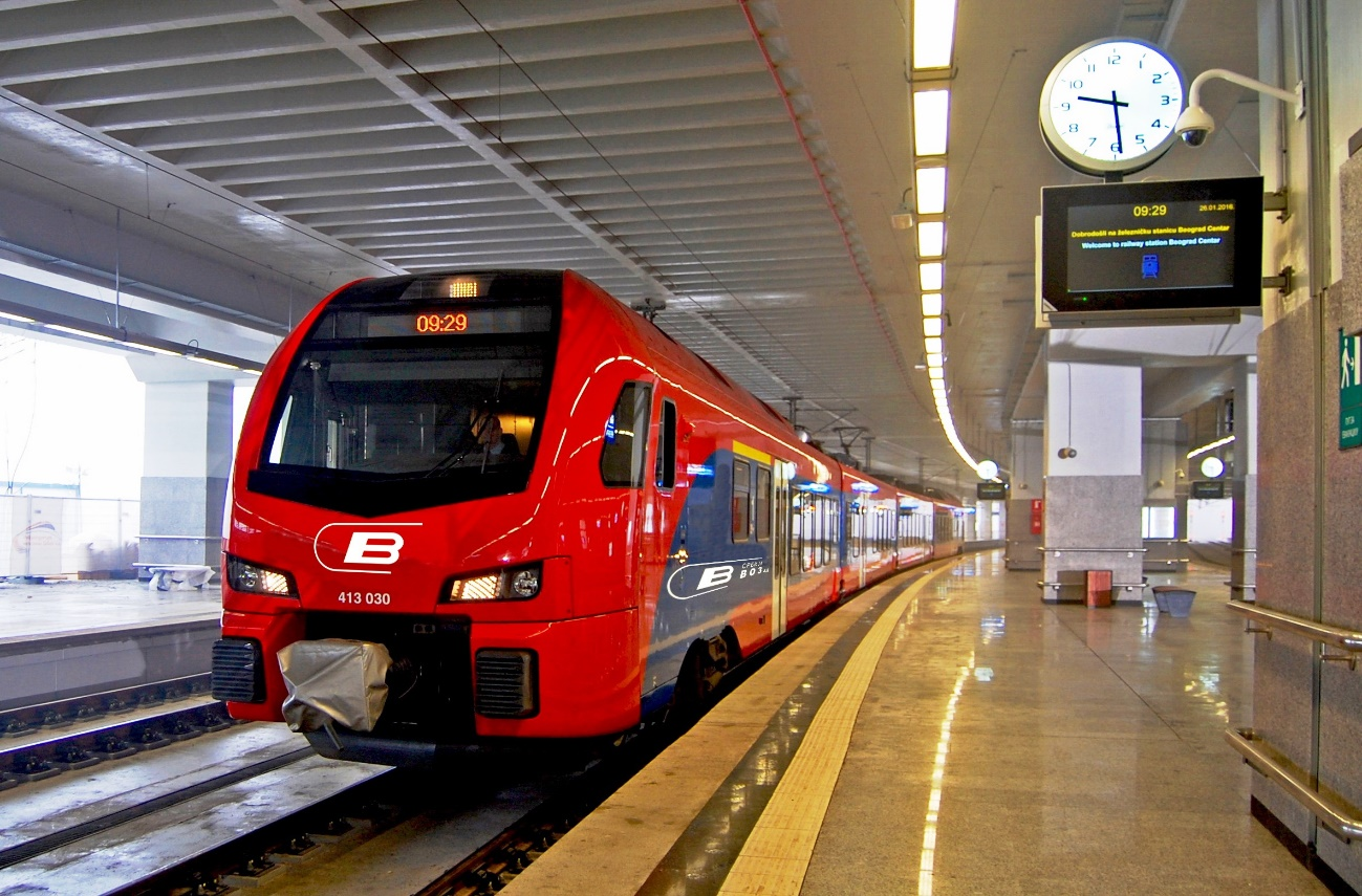 The new Serbian Railways depot will feature CAF technology for the automation of train data acquisition